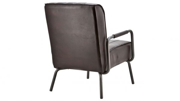 Fauteuil Martino Antraciet achter HPW