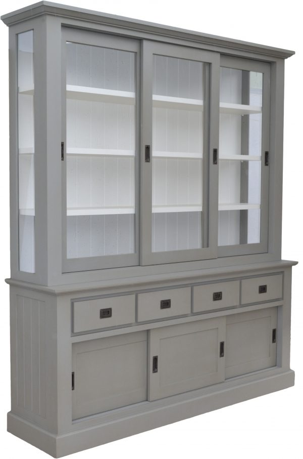 buffet in taupe kleur